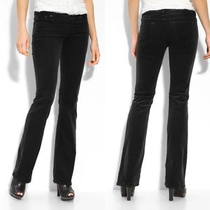 AG The Angel Black Corduroy Pant Jean Flare Boot